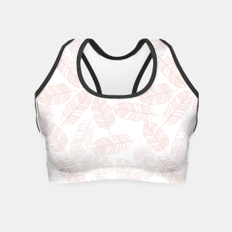 Miniaturka Tropical pattern 012 Crop Top, Live Heroes