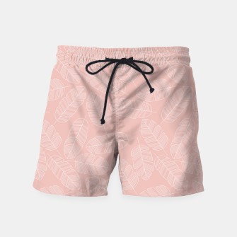 Miniatur Tropical pattern 013 Swim Shorts, Live Heroes