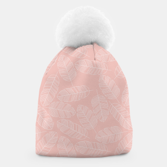 Thumbnail image of Tropical pattern 013 Beanie, Live Heroes