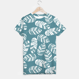 Miniatur Tropical pattern 015 T-shirt, Live Heroes