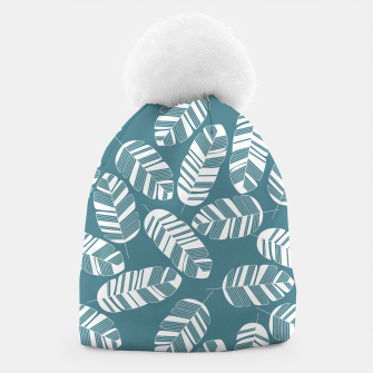 Thumbnail image of Tropical pattern 015 Beanie, Live Heroes