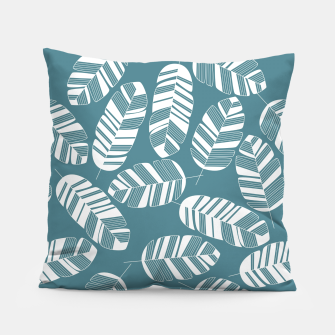 Miniatur Tropical pattern 015 Pillow, Live Heroes