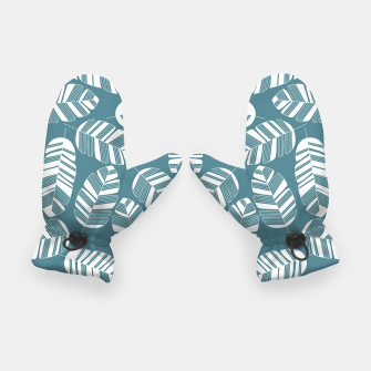 Miniatur Tropical pattern 015 Gloves, Live Heroes