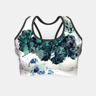Miniaturka Negative Flower Crop Top, Live Heroes