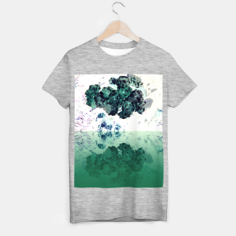 Miniatur Negative Flower T-shirt regular, Live Heroes