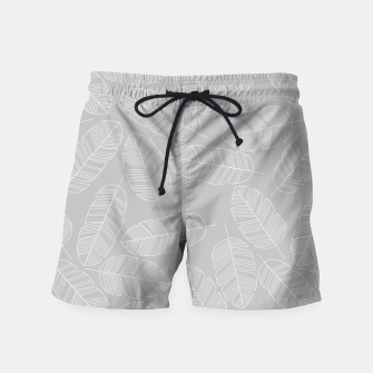 Miniatur Tropical pattern 017 Swim Shorts, Live Heroes