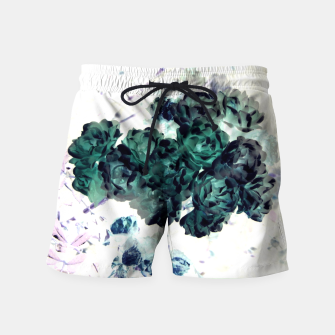 Miniatur Negative Flower Swim Shorts, Live Heroes