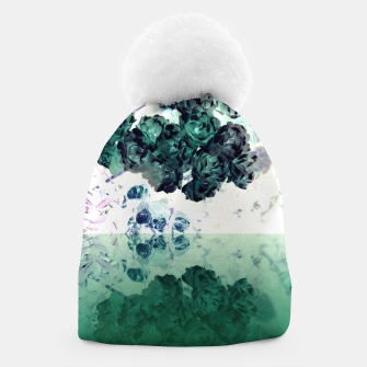 Thumbnail image of Negative Flower Beanie, Live Heroes
