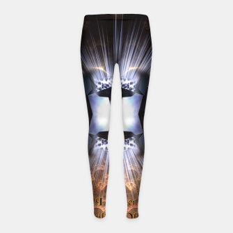 Thumbnail image of I Master - The Twilight Of Reason Girl's Leggings, Live Heroes
