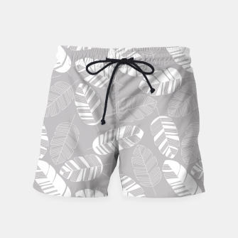 Miniatur Tropical pattern 018 Swim Shorts, Live Heroes