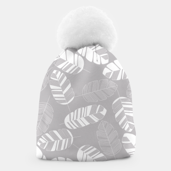 Thumbnail image of Tropical pattern 018 Beanie, Live Heroes