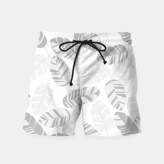 Miniatur Tropical pattern 019 Swim Shorts, Live Heroes