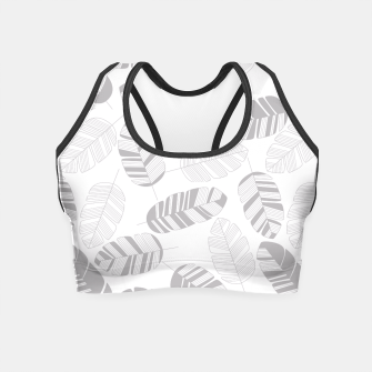 Miniaturka Tropical pattern 019 Crop Top, Live Heroes