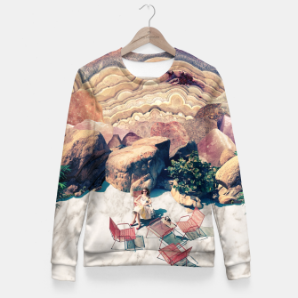 Thumbnail image of A Geologist's Dream Fitted Waist Sweater, Live Heroes