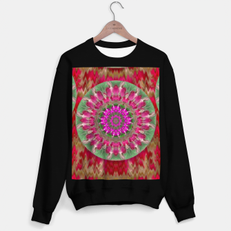 Miniatur Hearts can also be flowers such as bleeding hearts pop art Sweater regular, Live Heroes