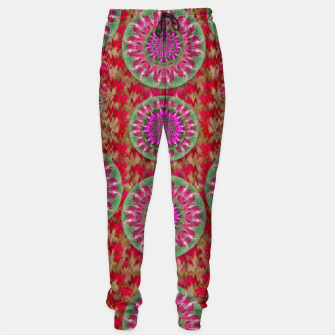 Miniatur Hearts can also be flowers such as bleeding hearts pop art Sweatpants, Live Heroes