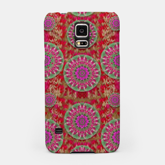 Miniatur Hearts can also be flowers such as bleeding hearts pop art Samsung Case, Live Heroes