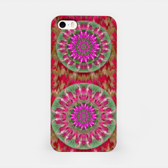Miniatur Hearts can also be flowers such as bleeding hearts pop art iPhone Case, Live Heroes