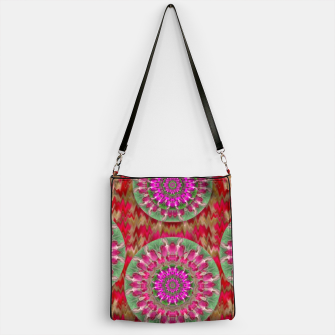 Miniatur Hearts can also be flowers such as bleeding hearts pop art Handbag, Live Heroes