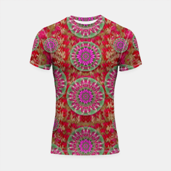 Miniatur Hearts can also be flowers such as bleeding hearts pop art Shortsleeve Rashguard, Live Heroes