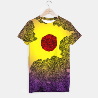 Thumbnail image of Red Sun T-shirt, Live Heroes