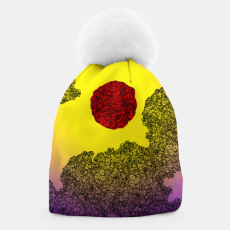 Thumbnail image of Red Sun Beanie, Live Heroes