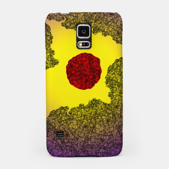 Thumbnail image of Red Sun Samsung Case, Live Heroes