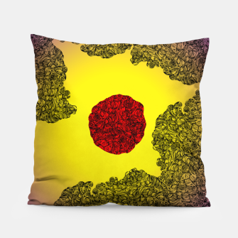 Thumbnail image of Red Sun Pillow, Live Heroes