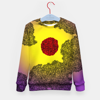 Thumbnail image of Red Sun Kid's Sweater, Live Heroes