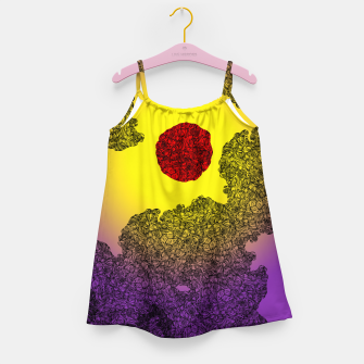 Thumbnail image of Red Sun Girl's Dress, Live Heroes