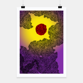 Thumbnail image of Red Sun Poster, Live Heroes
