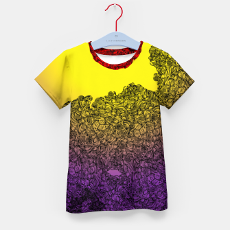 Thumbnail image of Red Sun Kid's T-shirt, Live Heroes