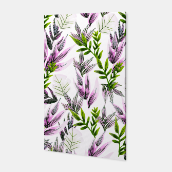 Thumbnail image of Illustration pattern plants Canvas, Live Heroes