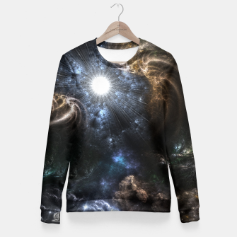 Realm Of Fractal Chaos CRTXR Fitted Waist Sweater thumbnail image