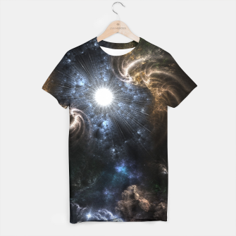 Thumbnail image of Realm Of Fractal Chaos CRTXR T-shirt, Live Heroes