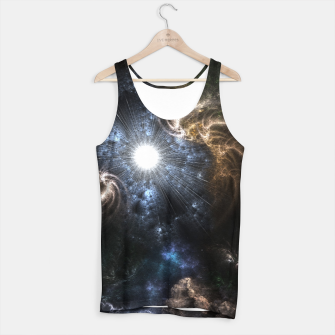 Thumbnail image of Realm Of Fractal Chaos CRTXR Tank Top, Live Heroes