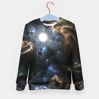Realm Of Fractal Chaos CRTXR Kid's Sweater thumbnail image