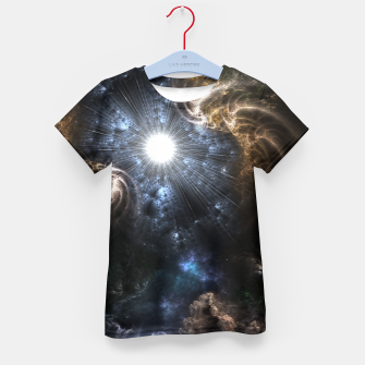 Thumbnail image of Realm Of Fractal Chaos CRTXR Kid's T-shirt, Live Heroes