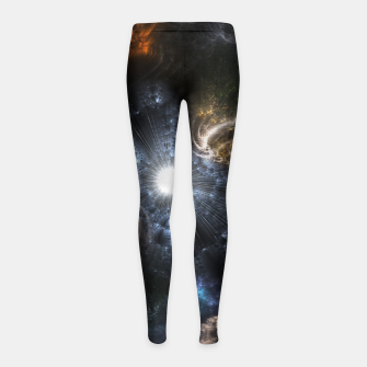 Realm Of Fractal Chaos CRTXR Girl's Leggings thumbnail image