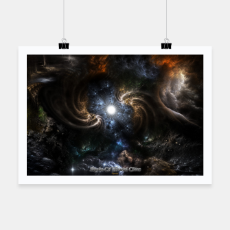 Thumbnail image of Realm Of Fractal Chaos CRTXR Poster, Live Heroes