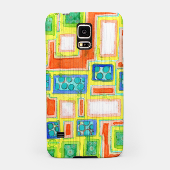 Thumbnail image of Structured Beautiful Bright Pattern with Vertical Pencil Lines  Samsung Case, Live Heroes