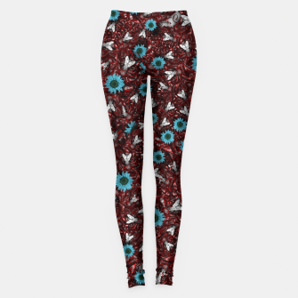 Imagen en miniatura de Flesh Heart, Flyes and Flowers Leggings, Live Heroes