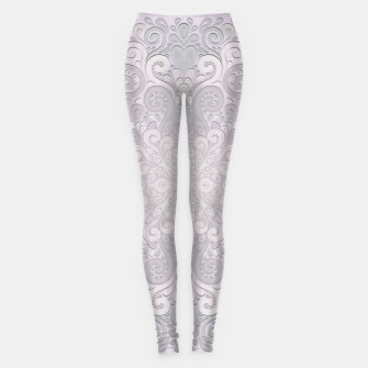 Imagen en miniatura de Powder Pink Watercolor Ornate Leggings, Live Heroes