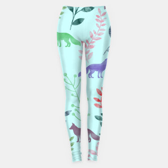 Imagen en miniatura de Floral and Fox  Leggings, Live Heroes