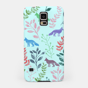 Miniature de image de Floral and Fox  Samsung Case, Live Heroes