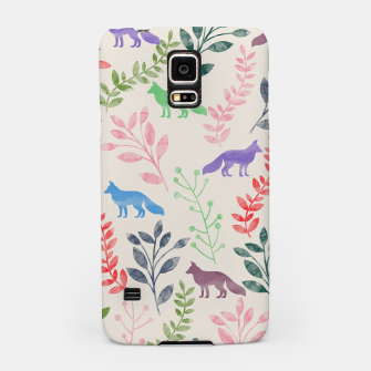 Miniature de image de Floral and Fox II Samsung Case, Live Heroes