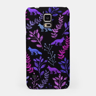 Miniature de image de Floral and Fox III Samsung Case, Live Heroes