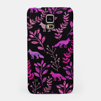 Miniature de image de Floral and Fox IV Samsung Case, Live Heroes