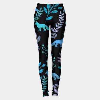 Imagen en miniatura de Floral and Fox V Leggings, Live Heroes