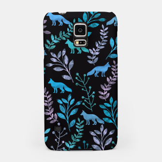 Miniature de image de Floral and Fox V Samsung Case, Live Heroes